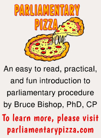 Parliamentary Pizza by Bruce Bishop